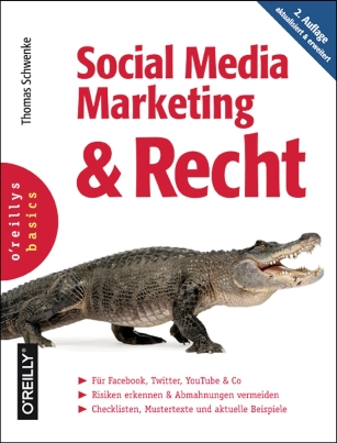 Buchcover Social Media Marketing & Recht