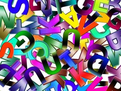 Buchstabenchaos
