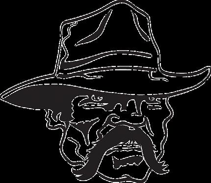 schlecht gelaunter Cowboy