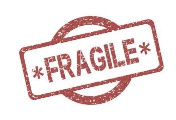 Schild Fragile