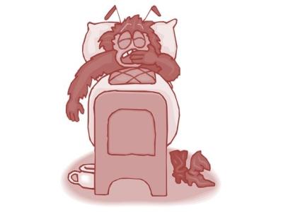 Langweilig im Bett