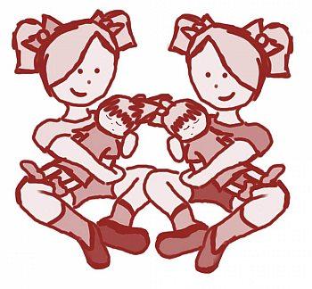 Zwillingspärchen