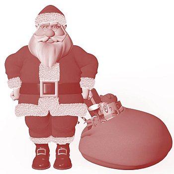 Ein Weihnachtsmann