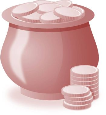 Ein Kessel voller Geld