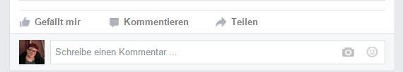 Facebooks interaktive Funktionen