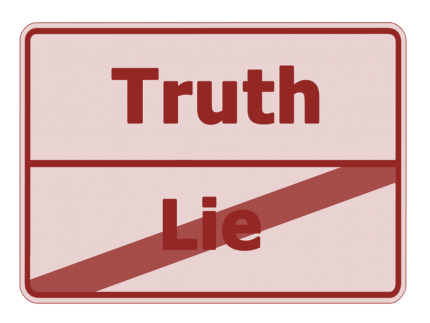 Lüge-Wahrheit