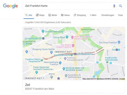 Google als Wegweiser