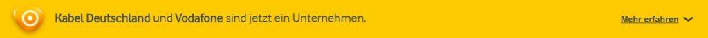 Kopfzeile Website www.kabeldeutschland.de