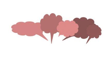 Sprachblasen Du oder Sie