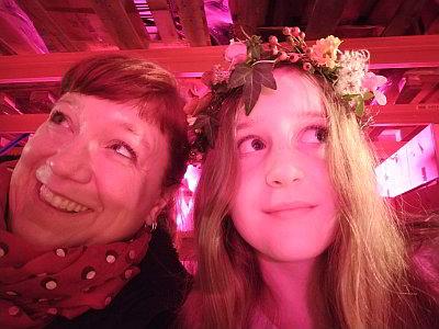 Christa und Lola haben Spaß