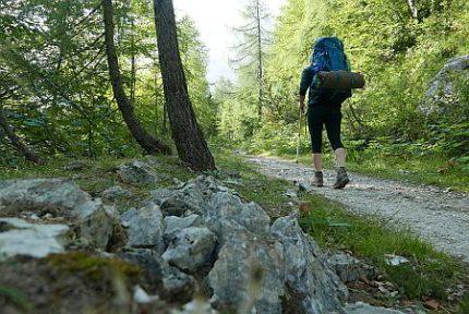 Bianca Gade Slowenien-Trekking-mit-Zelt