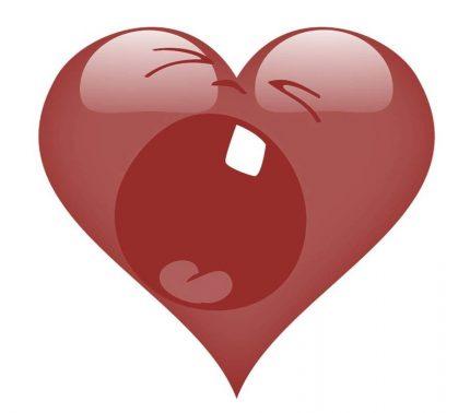 Ein Herz, das schreit