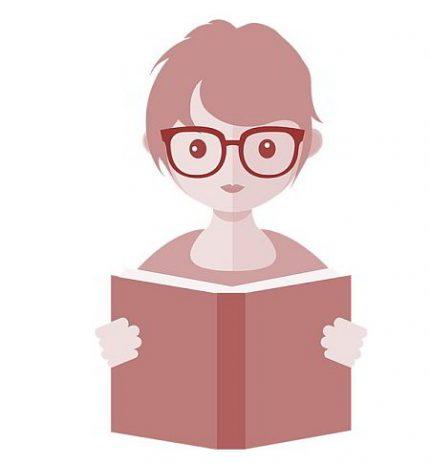 Eine Frau liest ein Buch