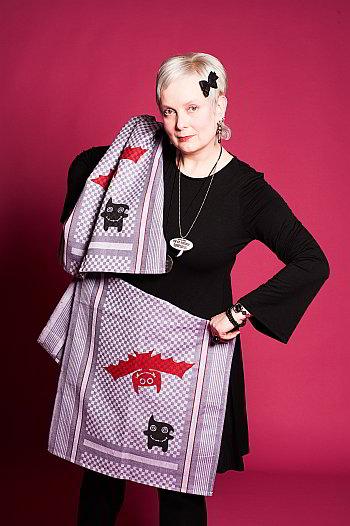 Miss Tula Trash und ihre Monster-Handtücher