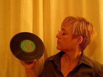 Christina Mohr mit Breeders-Platte