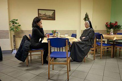 Tina Pruschmann mit Schwester Gerburgis